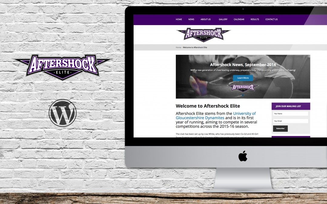 Website for Aftershock Elite