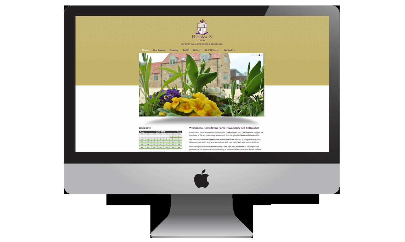 Homedowns Farm Website Craig Paul Design Ltd