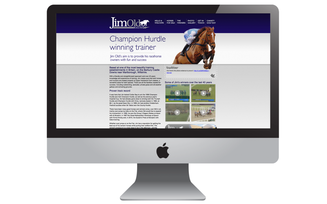Jim Old Racing Website